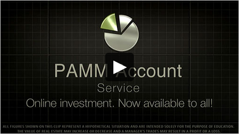 PAMM account investments on Forex